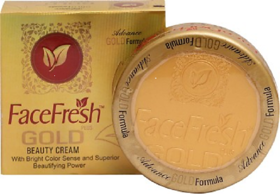 Face Fresh Gold Beauty Cream (PACK OF 3 Pcs).