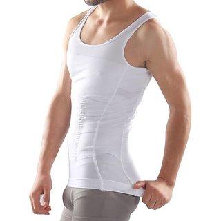 8ab7d0b88c Buy Favourite Deals Important Slim Fit Seamless Slimming Vest Tummy Tucker  For Men s Online - Get 76% Off