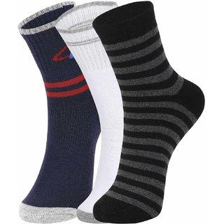 DUKK Multi Pack Of 3 Full Length Socks