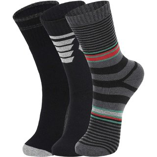 DUKK Multi Pack Of 3 Full Length Socks