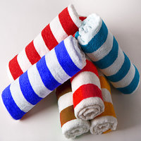 Deal Wala Pack Of 2 Stripe Design Cotton Face Towel