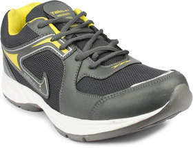 Columbus Men's Yellow & Gray Running Shoes