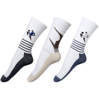 By The Way Full Length Sports Men Socks (Pair of 3)