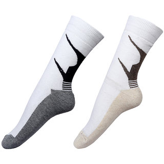 By The Way Full Length Sports Men Socks (Pair of 2)