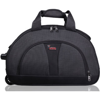 F Gear Cooter Polyester Grey Black Small Travel Duffle bag-20 inch f425fa1e5c