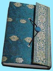 Diaries Sari Fabric Cover