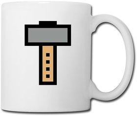 Bit Hammer Pixel 3c Bottles  Mugs - Coffee/Tea Mug