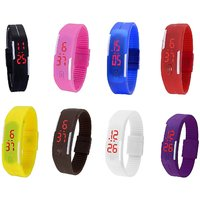 KAYRA  LED MULTI COLOR UNISEX COMBO LIMITED STOCK FAST SELLING OUT Digital Watch - For Boys, Girls, Men, Women