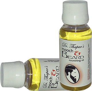 Mooch and Beard Oil By Dr.Thapar