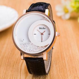 5Star Designer diamond watch Black