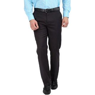 Gwalior Premium Dark Grey Slim Fit Formal Trouser