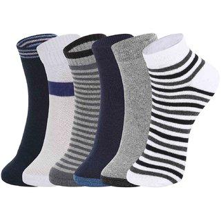 DUKK Multi Pack Of 6 Ankle Socks