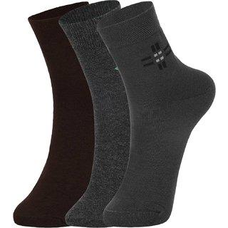 DUKK Multi Pack Of 3 Ankle Socks
