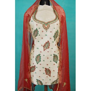IraMantra Hand Embroidery Salwar suit (Unstitched)