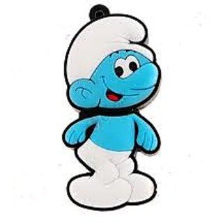 Microware 16GB Smily Smurfs Boy Shape Designer Fancy  Pendrive