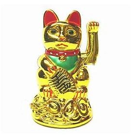 Calling Feng Shui Lucky Cat For Increase In Business And Wealth - Feng Shui Item