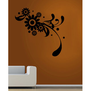 Decor Villa Stylist Flowers Wall Decal & Sticker