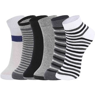 DUKK Multi Pack Of 6 Ankle Socks