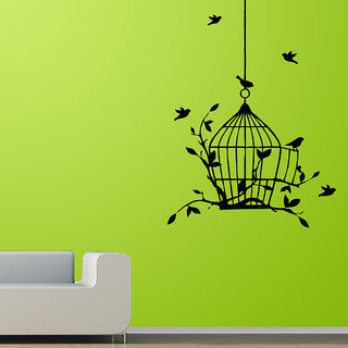 Decor Villa Fly Bird Wall Decal & Sticker