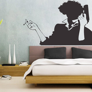 Decor Villa Love With Gun Wall Wall Decal & Sticker