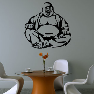 Decor Villa Laughing Buddha Wall Decal & Sticker
