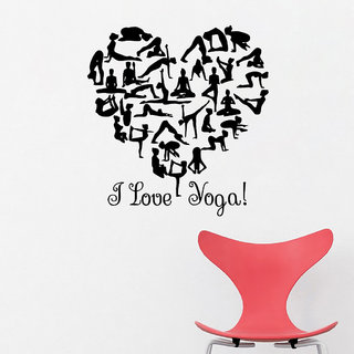 Decor Villa Ilove Yoga Wall Wall Decal & Sticker