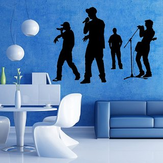 Decor Villa Rock Band Group Wall Decal & Sticker