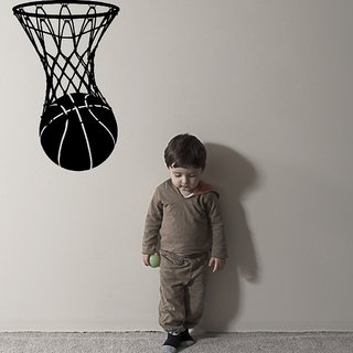 Decor Villa Basketball Wall Decal & Sticker