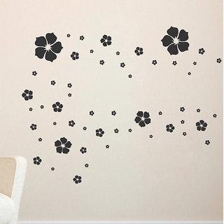 Decor Villa Flowers Wall Decal & Sticker