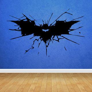 Decor Villa Batman Sign Wall Decal & Sticker