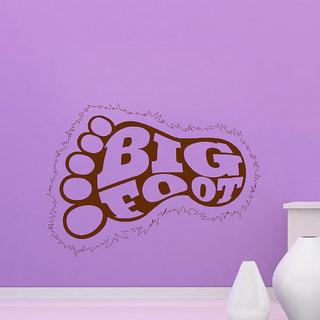 Decor Villa Big Foot Wall Decal & Sticker