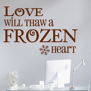 Decor Villa Love Will Thaw Wall Decal & Sticker