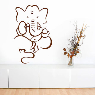 Decor Villa Ganesh Ji Wall Decal & Sticker