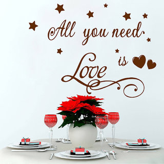 Decor Villa All Love Wall Decal & Sticker