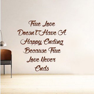 Decor Villa True Love Wall Wall Decal & Sticker