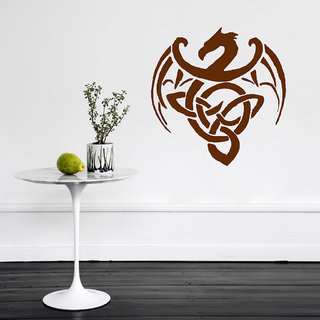 Decor Villa Dragon Logo Wall Decal & Sticker