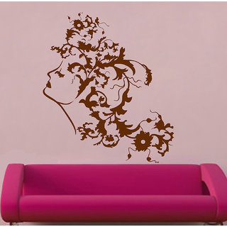 Decor Villa Nature Girl Wall Decal & Sticker