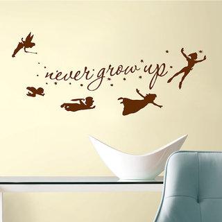 Decor Villa Never Grow Up Wall Decal & Sticker
