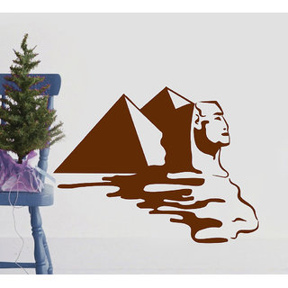Decor Villa Pyramid Wall Decal & Sticker