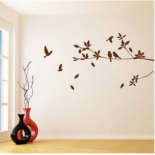 Decor Villa Bird Flying On Tree Wall Decal & Sticker