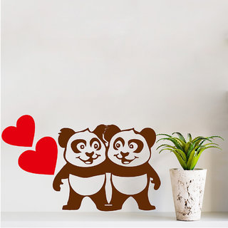 Decor Villa Panda Love Wall Decal & Sticker