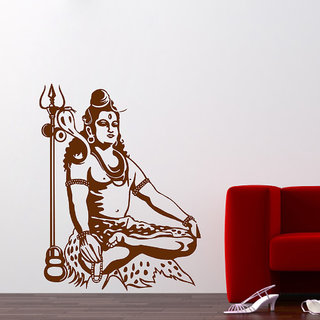 Decor Villa The Shiva Ji Wall Decal & Sticker