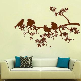 Decor Villa Branches & Birds Wall Decal & Sticker