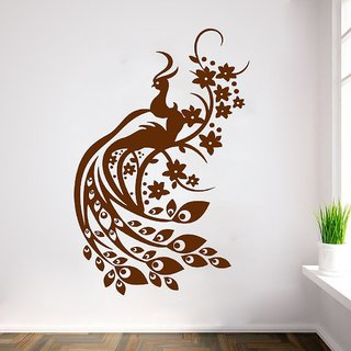 Decor Villa Pacock Wall Decal & Sticker