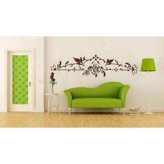 Decor Villa Floral Wall Decal & Sticker