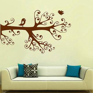 Decor Villa Bird Flying On Tree Wall Wall Decal & Sticker