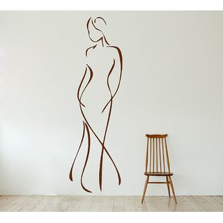 Decor Villa Full Girl Art Wall Decal & Sticker