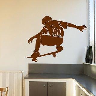 Decor Villa Skting Boy Wall Decal & Sticker
