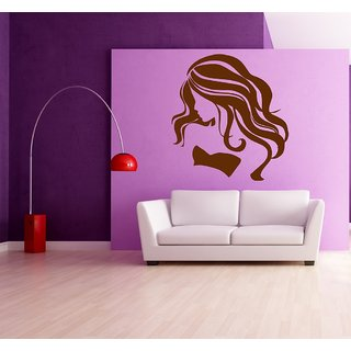 Decor Villa Modren Girl With Girl Wall Decal & Sticker