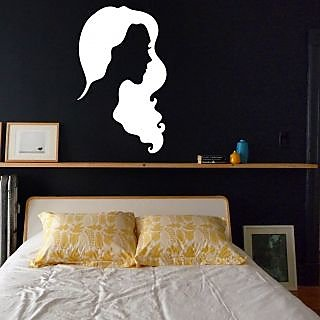 Decor Villa Girl Wall Decal & Sticker
